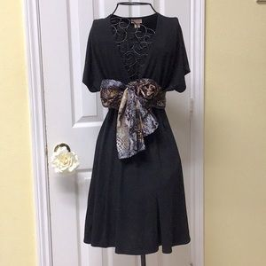 Do everything casual little black dress/coverup XS
